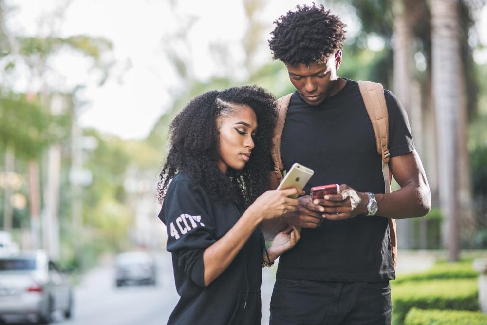 Black chat line